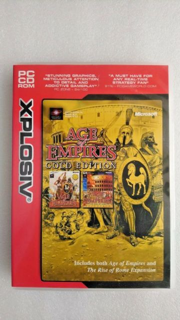 Age of Empires - Gold Edition (PC, 1999)